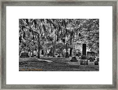 Is There Anybody Out There Framed Print by Dan Crosby