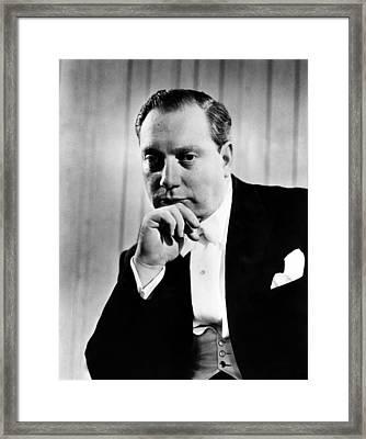 Isaac Stern 1920-2001, Violinist Framed Print by Everett