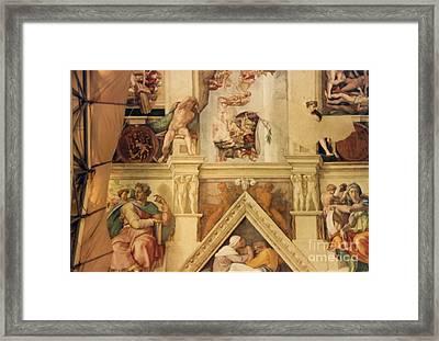 Isaiah Josiah Delphica Framed Print