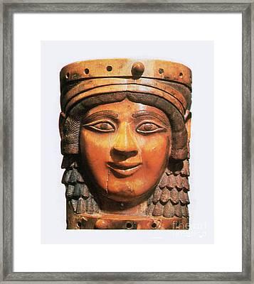 Ishtar, Babylonian Goddess Framed Print by Photo Researchers
