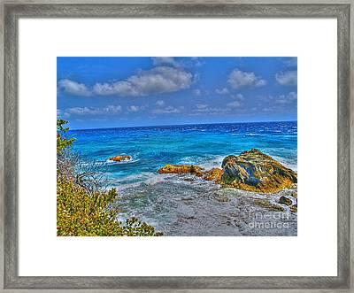 Isla Mujeres IIi Framed Print by Jimmy Ostgard