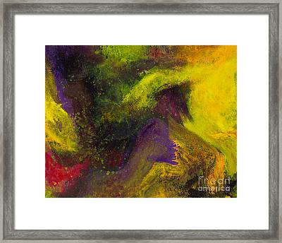 Island Dance Framed Print