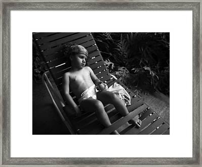 Island Dreamgirl Framed Print