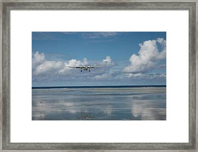 Island Hopping Framed Print by John Marelli