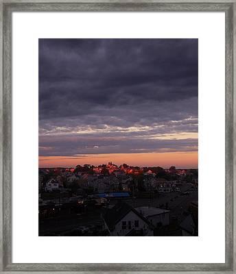 Island Of Light Framed Print by Matthew Green