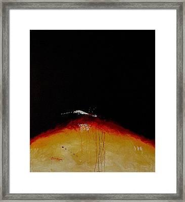 Island Picture  I. Framed Print by Jorgen Rosengaard