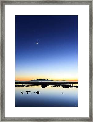 Isle Of Arran Sunset Framed Print by Fiona Messenger