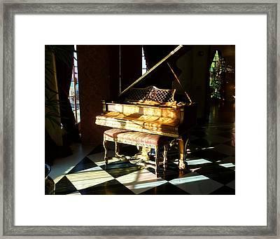 Isnt It Grand Framed Print by Florene Welebny