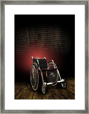 Isolation Through Disability, Artwork Framed Print by Victor Habbick Visions