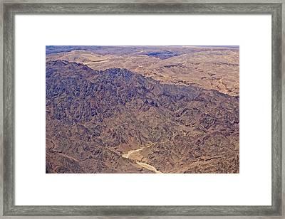 Israeli Desert Framed Print by Jenn Bodro