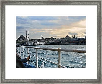 Istanbul  Framed Print by Bener Kavukcuoglu