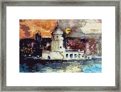 Istanbul Constantinople Framed Print