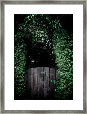 It Begins With A Promise Framed Print by Odd Jeppesen
