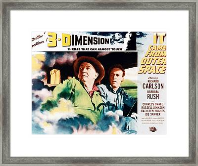 It Came From Outer Space, From Left Joe Framed Print