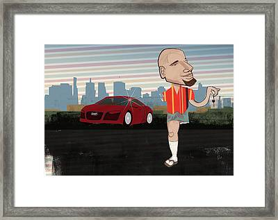 It Cost Him An Arm And A Leg Framed Print