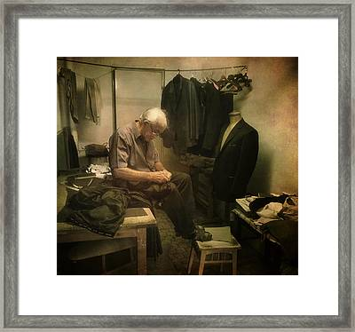 It Is In Hand.. Framed Print by Akos Kozari