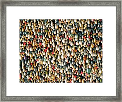 It Is What You Think It Is Framed Print by Gwyn Newcombe
