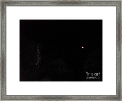 It Really Was Pink Framed Print by Doug Kean