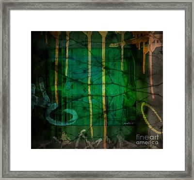 It Runneth Over Framed Print by Fania Simon