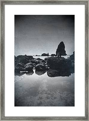 It Seems So Shallow And Low Framed Print by Laurie Search