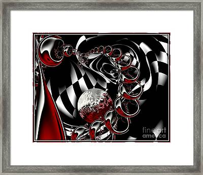 It Takes Imagination Framed Print by Michelle H
