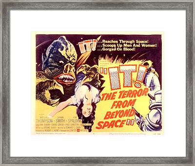 It The Terror From Beyond Space, 1958 Framed Print