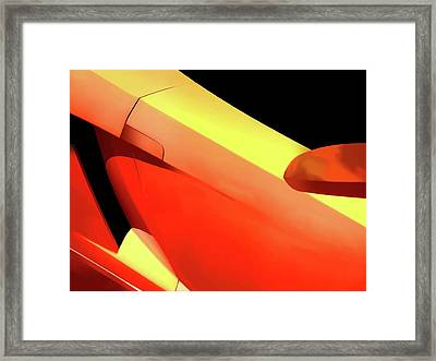 Italian Abstract Framed Print by Douglas Pittman