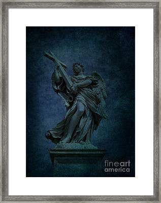 Italian Angel Framed Print by Lee Dos Santos