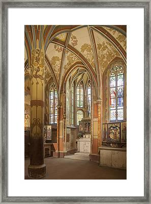 Italian Court (vla?ský Dv?r), The Royal Chapel Framed Print