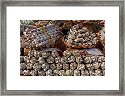 Italian Market Framed Print