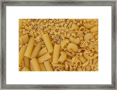 Italian Pasta Framed Print by Alessandro Matarazzo