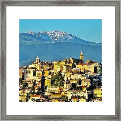 Italian Sunrise Framed Print