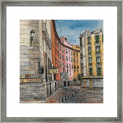 Italian Village 2 Framed Print by Debbie DeWitt