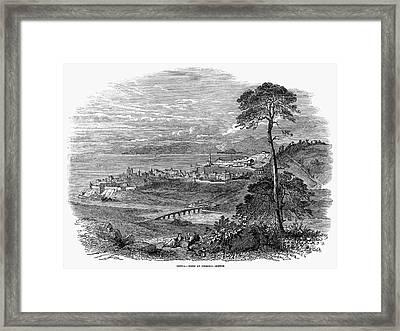 Italy: Genoa, 1849 Framed Print by Granger