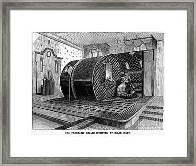 Italy: Health Institute, 1876 Framed Print by Granger