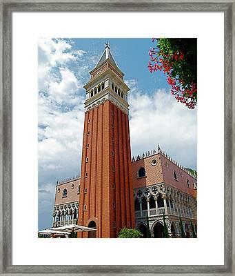 Italy In Orlando Framed Print