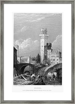 Italy: Padua, 1833 Framed Print
