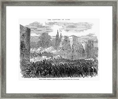 Italy: Unification, 1870 Framed Print by Granger