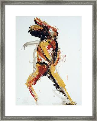 Itch Framed Print