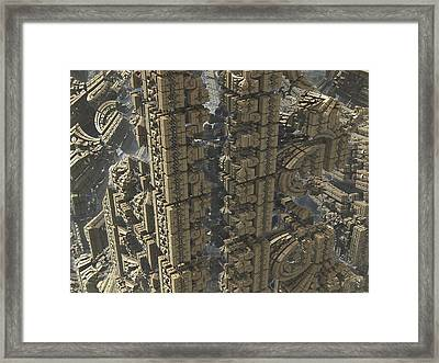 It's A Long Way Down Framed Print