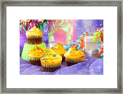 It's A Party Framed Print by Darren Fisher