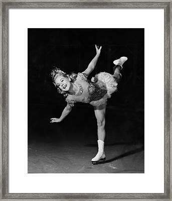 Its A Pleasure, Sonja Henie, 1945 Framed Print