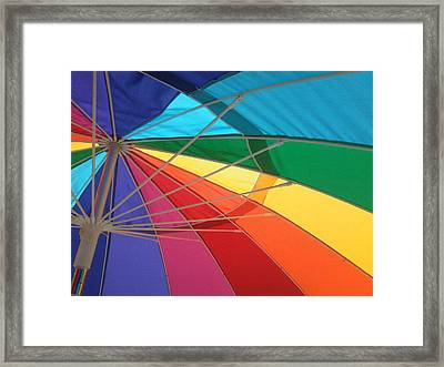 Framed Print featuring the photograph It's A Rainbow by David Pantuso