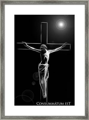 Its Accomplished Framed Print by Steve K