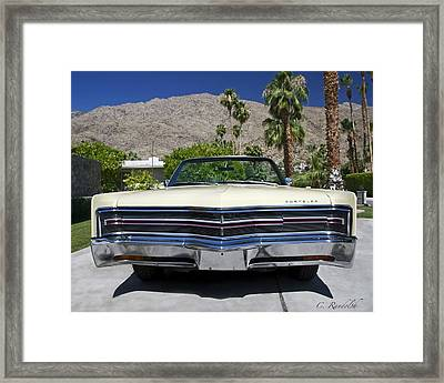Framed Print featuring the photograph It's All About The Body by Cheri Randolph