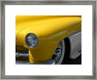 It's Chopped Framed Print by Chuck Re