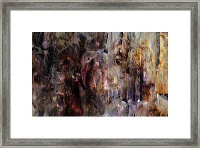 Its Complicated Framed Print by Jean Moore