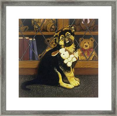 Its Mine Framed Print by Steven Wood