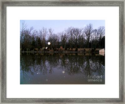 It's Not Even Dark Yet Framed Print by Doug Kean
