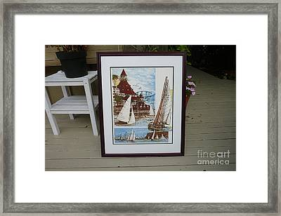 Its Old Its New We Love It Coronado Framed Print